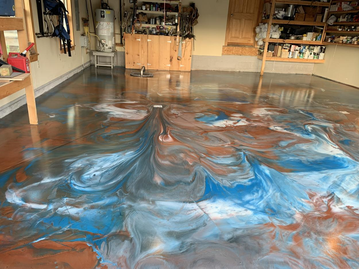 Metallic Epoxy Flooring | Superior Polymer Products